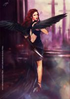 Avenging angel: Natasha by Brilcrist
