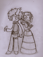 Sweeney Todd and Mrs.Lovett by SalemTheCat23