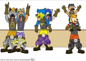 Welcome to The Wedgie Gang (Collab with Jayden) by Wedgie-Fox