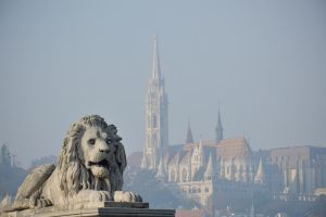 Foggy Morning in Budapest II by cjporter
