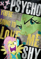 Psychoshy Poster by Skeptic-Mousey