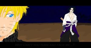 Why can't you turn and face me by Divine-Nataku