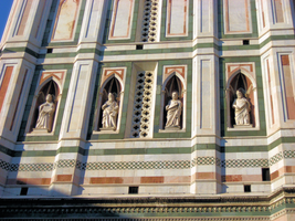 Four Saints at the Duomo by JJPoatree
