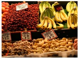 Fruits in seattle by subcoolandice