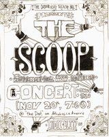 The Scoop: Fake Concert Poster by theycallmefave