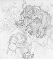 Hulk pencils by timothygreenII