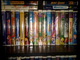 Disney VHS by jyounger