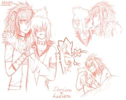 sketchpage - Damian X Lucien by Kisoro