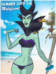 #SummerGothGal - Maleficent  by theEyZmaster