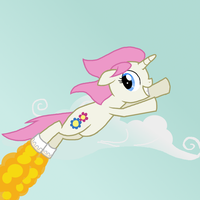 Springaling's new shoes by Cyberglass