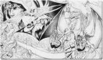 Nicol Bolas and Pals by creatorpwned