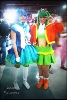 Aoki Lapis and Gumi Megpoid Cosplay VOCALOID 3 by Nerozz