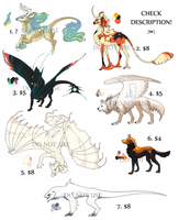 DESIGNS FOR SALE by Screeches