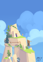 adventure mountain by westykid