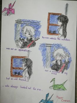 The man in the window by shizukaria13