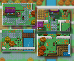Copperledge Town by AtomicReactor