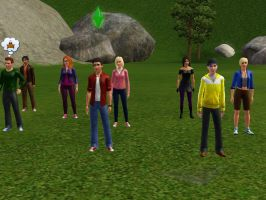 Original Eight 2014 Sims by TheDoctorWriter