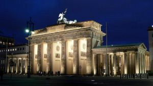 Brandenburg Gate by Blue25