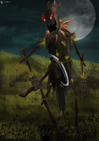 Fiddlesticks FanArt by Papillon89