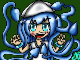Squid_Face by foshizzel