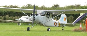 on the ground Cessna Bird Dog by Sceptre63