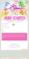 Smile Precure Free Journal Skin by pomppet