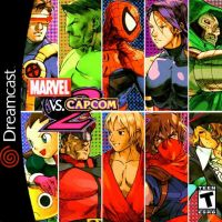 MARVEL VS CAPCOM 2 [ORIGINAL DREAMCAST COVER] by xGOJIRAx