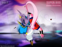 Bills vs Super Boo Gohan Absorbido by ChrstianZ