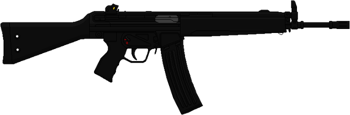 Heckler And Koch HK33 by Hybrid55555