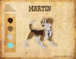Martin - Character Sheet by Skailla