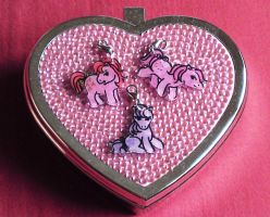 My Little Pony charm set by Lovelyruthie