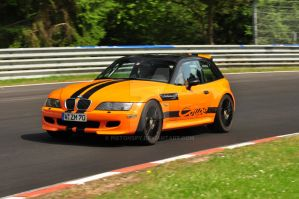 BMW M Coupe Nurburgring by Pistonspy