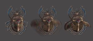 Scarab Amulet by NightWish666