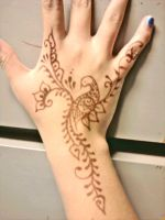 Peacock Henna by Karen73
