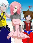 Summer KH anime style colored by xdangoloverxx