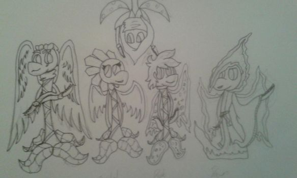A family portrait (Unfinished) by Volkerschild