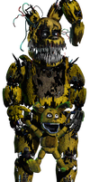 Nightmare Spring bonnie by thelazyforever