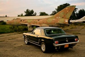 Ford Mustang 1965 Airport 2 by patrik145