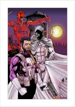 Marvel Knights colors by TMD by DONAHUE-t