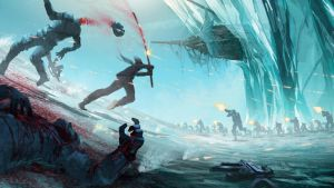 Arctic Assault by orangehexagon