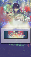 Never Lose Your Faith Tag Wall by MF21
