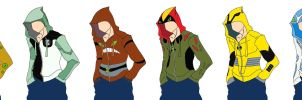Ben 10 Hoodies 2 by tophphan