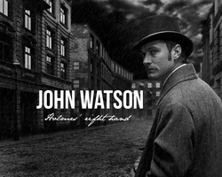 John Watson - Holmes' right hand by Mequ