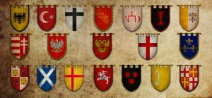 Medieval Flags by Art-by-Edum