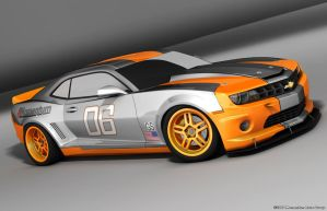 Monument Race Group Camaro by TheCarloos