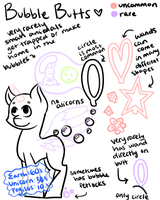 Bubble Butts Species Ref by perfectnesspony