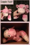 Slowpoke Plush by The-MoonSquid