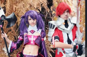 ELSWORD: Void Princess and Lord Knight by jycll
