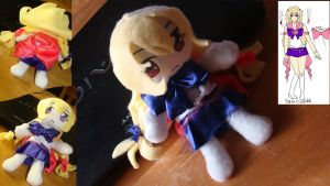 Sailor Celestial Plushie by lilYumi-chan
