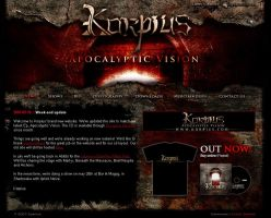 Korpius web site 2 by neverdying